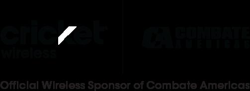 Cricket Wireless, Combate America Logo
