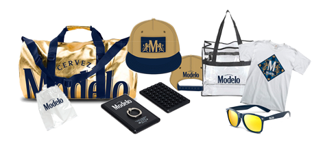 Modelo Swag items.