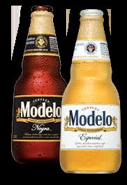 Modelo Beer Bottles